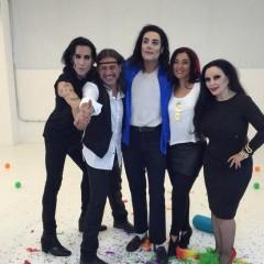 Alaska, Mario Vaquerizo y Cristina Pedroche en el video de Camela