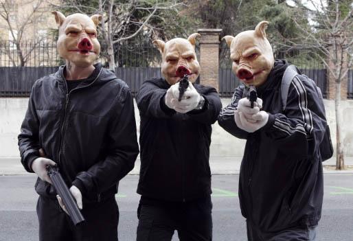 Los tres cerditos, Antena 3