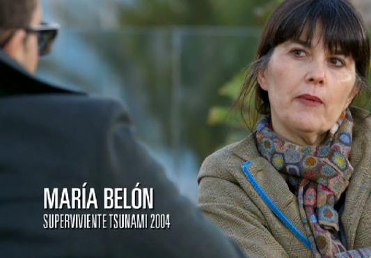 María Belón, Superviviente del Tsunami de 20014