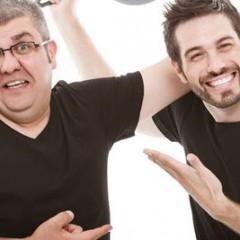 'Sopa de gansos' en cuatro, con Florentino Fernández y Dani Martínez
