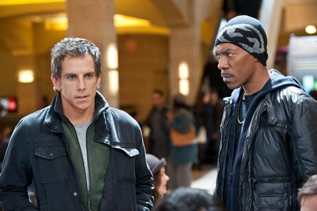Un golpe de altura Ben Stiller y Eddie Murphy