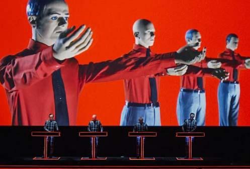 Concierto de Kraftwerk en Barcelona