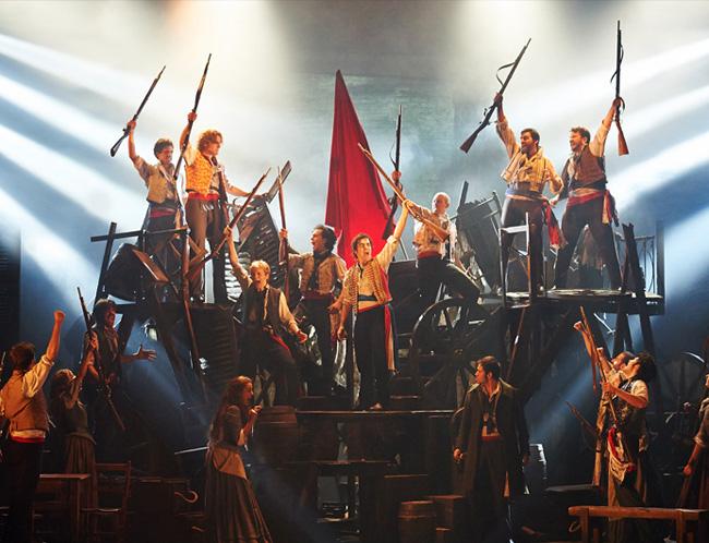 El musical Los Miserables