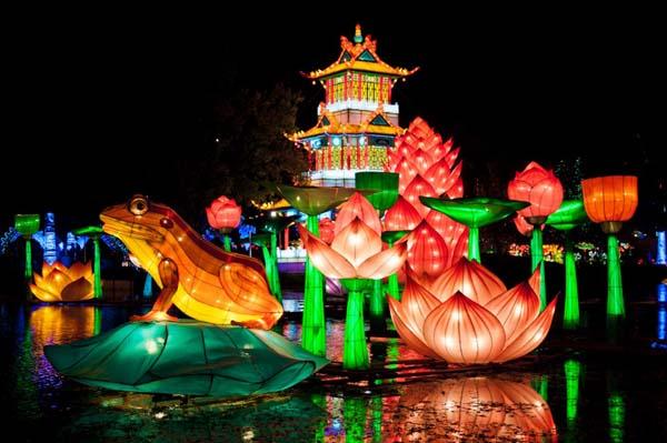 Festival de Faroles chinos de BArcelona