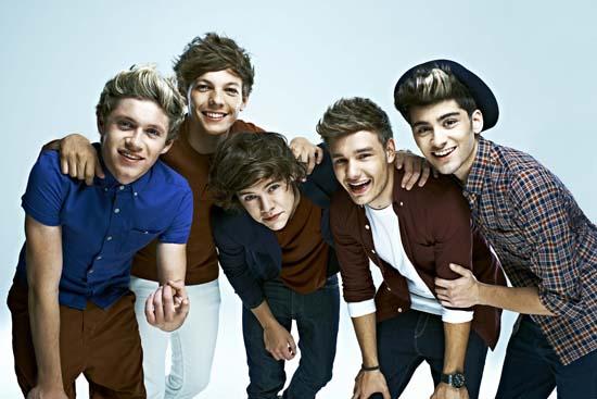 One Direction en los Premios 40 Principales en directo