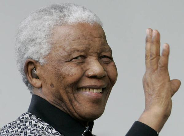 Primer aniversario de la muerte de Nelson Mandela