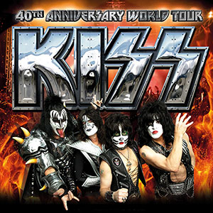 Kiss en Barcelona y Madrid