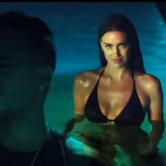 Video: Irina Shayk junto a Romeo Santos y Marc Anthony