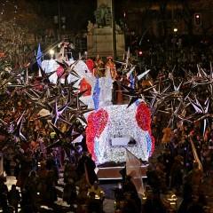 La cabalgata de Reyes de Madrid en 2015 de lo más musical