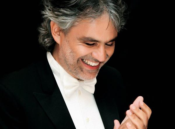 Andrea Bocelli en San Valentín