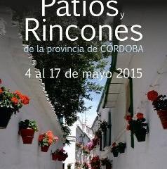 I Concurso de Patios y Rincones de la Provincia de Córdoba, plazo hasta el 15 de Abril.