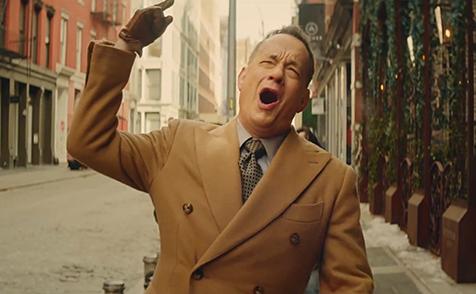 Tom Hanks protagoniza el video de Carly Rae Japsen