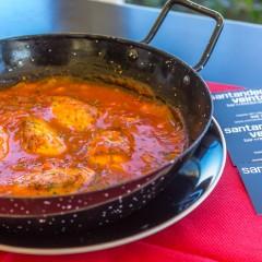 Santander veinte nos presenta su receta saludable de marzo: Sarda al ajoarriero
