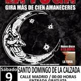 La Fuga en concierto con Más de Cien Amaneceres