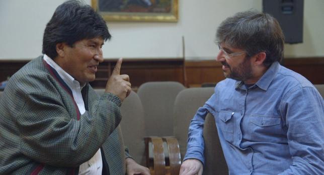 Evo Morales en 'Salvados'