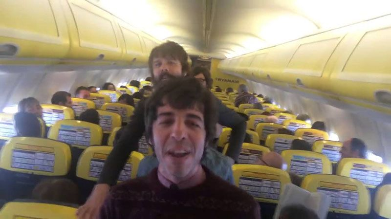 Video de la cancion de Sidonie a Ryanair compressor