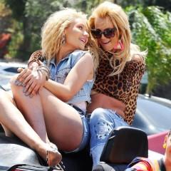 Britney Spears e Iggy Azalea, juntas en el video de 'Pretty Girls'