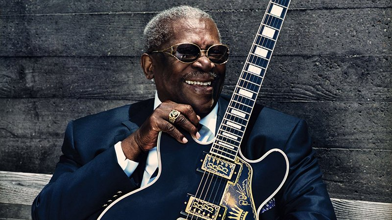 Ha muerto B.B. King aidós al Rey del Blues min