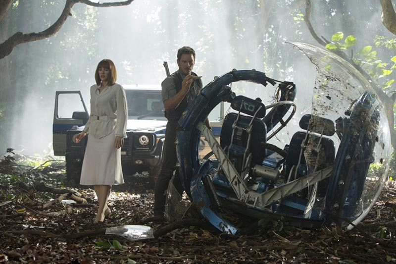 Cartelera del 12 de junio, Jurassic World