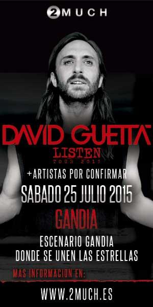 Entradas David Guetta en Gandía
