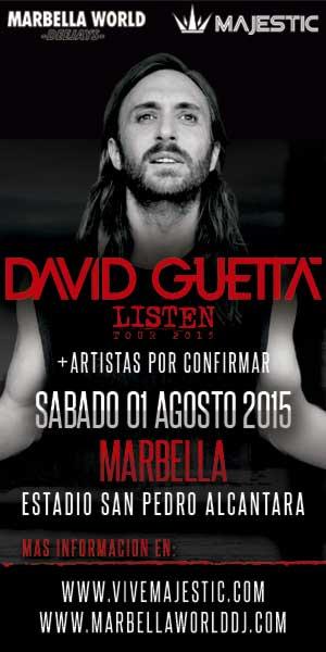 Entradas para David Guetta en Marbella
