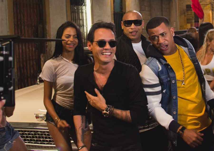 Video de La gozadera, Gente de Zona y Marc Anthony
