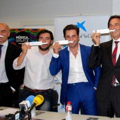 David Bustamante protagonista de 'Ningún niño sin bigote'