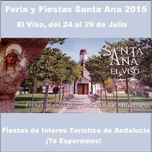Fiestas Santa Ana 2015