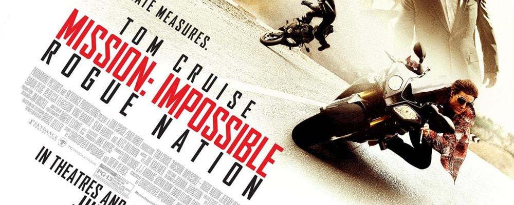 Nueva entrega de 'Misión Imposible' para la cartelera de esta semana