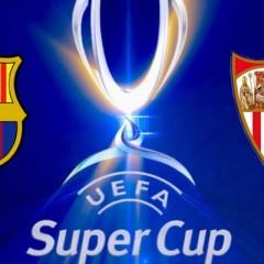 F.C.Barcelona y Sevilla juegan la Supercopa de Europa en Antena 3