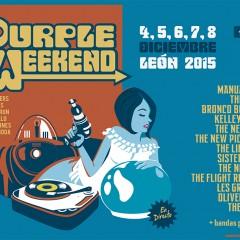El Purple Weekend 2015 coge forma