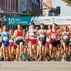 Carrera 10km Cajaviva en Burgos, tercera edición