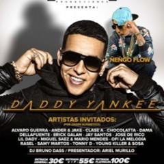 Daddy Yankee & Ñengo Flow y Cosculluela en el Auditorio De Málaga