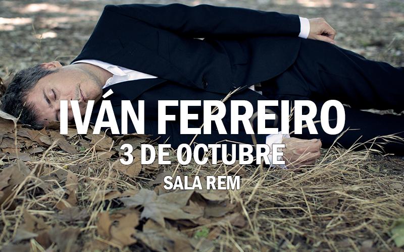 Iván Ferreiro en Sala REM
