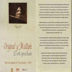 ORIGINAL Y MÚLTIPLE: EL ARTE APROXIMADO