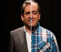 Pepón Nieto y Fernando Tejero con 'Mitad y Mitad' en el Teatro Jovellanos de Gijón