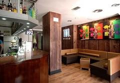 Santiago. Cafetería Restaurante