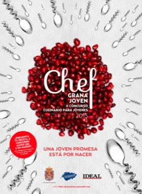"""II Concurso culinario para jóvenes """"Granajoven Chef"""""""