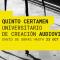 Suroscopia 2015, quinto Certamen Universitario de Creación Audiovisual