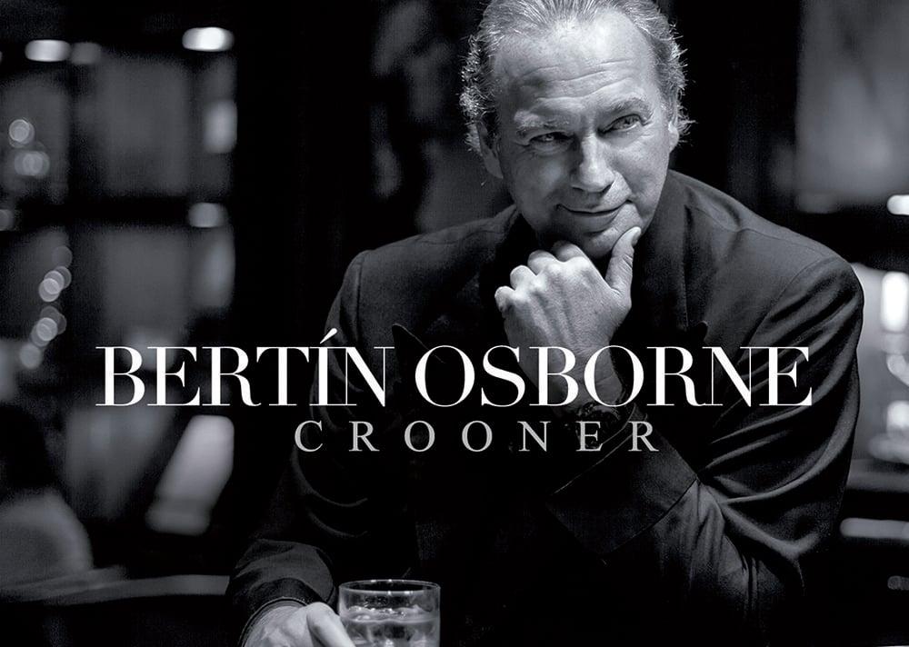 Bertín Osborne convertido en Crooner compressor