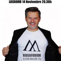 Miki Nadal presenta Mikipedia en Logroño