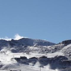 Sierra Nevada pone en marcha el sistema de nieve producida en la Estación de esquí temporada 2015-2016