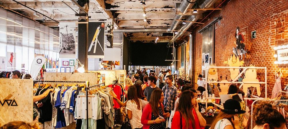 Mercado Central de Diseño en Matadero Madrid