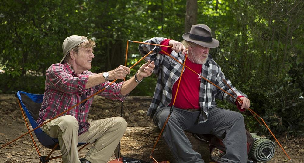 Un paseo por el bosque, con Robert Redford y Nick Nolte