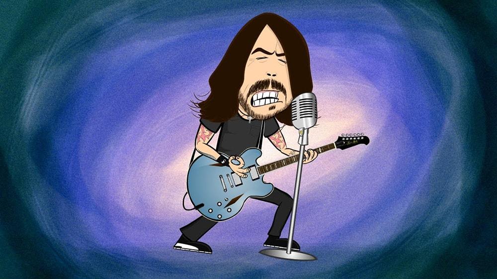 Video de Savior Breath de Foo Fighters min