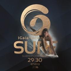 Programa de la I Gala Nacional del Surf en Suances