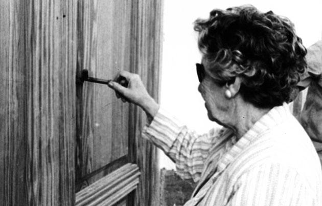 Isabel Garcia Lorca abre la puerta