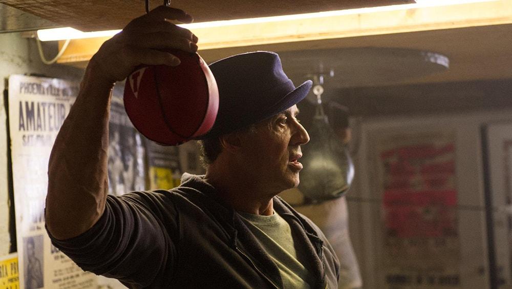 Rocky golpea la cartelera Sylvester Stallone min