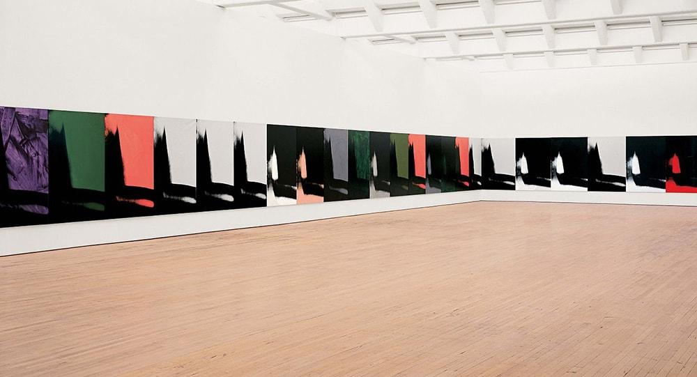 Exposición de Andy Warhol en el Guggenheim Bilbao
