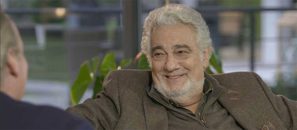 Plácido Domingo con Bertín Osborne